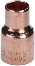 22 x 15 mm Lodde reduktion muffe/muffe