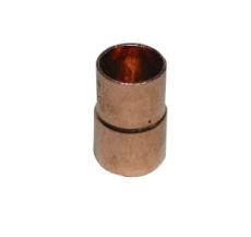22 x 15 mm Lodde reduktion nippel/muffe