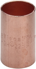 8 mm Loddefittings muffe