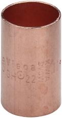 54 mm Loddefittings muffe