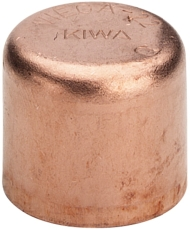 54 mm Loddefittings slutmuffe