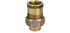 "22 mm x 3/4"" Lodde union muffe/muffe"