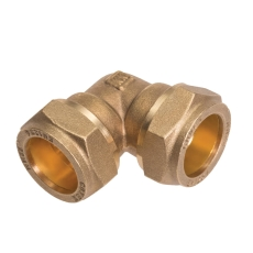 Conex 15mm komp. vinkel   godkendt til pex og kobber