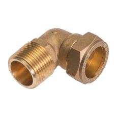 """Conex 12mmx3/8"""" kompr.vlnp   godkendt til pex og kobber"""