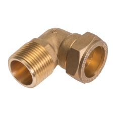 """Conex 15mmx1/2"""" kompr.vlnp   godkendt til pex og kobber"""