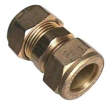 18 mm Kompression lige kobling Til kobberrør.