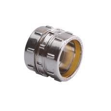 Conex 15mm komp.kobl. krom   godkendt til pex og kobber