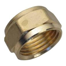 15 mm Kompression omløbermøtrik Til kobberrør.