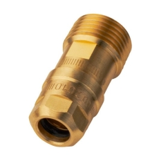"""1/2"""" x 10,5 mm Roth Clima Comfort overgang nippel"""