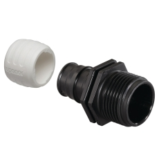 """Uponor Q&E overgangsnippel PPSU 16-G1/2""""MT"""