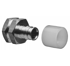 """Uponor Q&E overgangsmuffe NKB DR 15-1/2""""FT"""