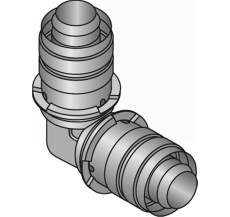 Uponor S-Press vinkel 50-50
