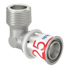 """Uponor S-Press vinkel m/nippel 25-R3/4""""MT"""