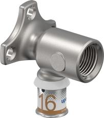"""Uponor Smart Aqua dækvinkel S-Press 16-Rp1/2""""FT"""