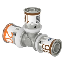 Uponor S-Press tee reduceret 20-16-16