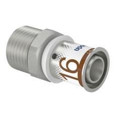 "Uponor S-Press kobling m/nippel 16-R1/2""MT"