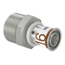 "Uponor S-Press kobling m/nippel 16-R3/4""MT"