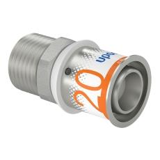 "Uponor S-Press kobling m/nippel 20-R1/2""MT"