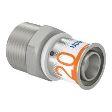 "Uponor S-Press kobling m/nippel 20-R3/4""MT"