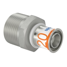 "Uponor S-Press kobling m/nippel 20-R1""MT"