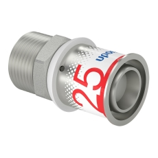 "Uponor S-Press kobling m/nippel 25-R3/4""MT"