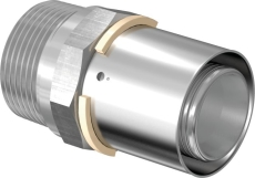 "Uponor S-Press kobling m/nippel 40-R1 1/4""MT"