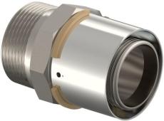"Uponor S-Press kobling m/nippel 50-R1 1/2""MT"