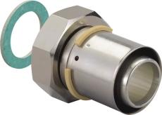 "Uponor S-Press kobling m/omløber 50-G1 3/4""SN"