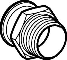 "42 mm x 1.1/2"" Overgang CUG muffe/nippel Mapress"