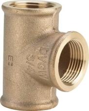 """3/4"""" Tee Rødgods Silicium Bronze"""