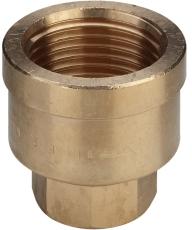 "2 x 1.1/2"" Rødgods Silicium Bronze reduktionsmuffe"