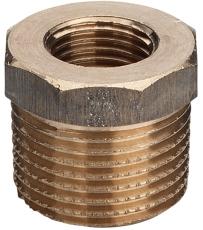 "2 x 1/2"" Rødgods Silicium Bronze reduktion"