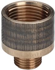 "3/8 x 3/4"" Rødgods Silicium Bronze reduktion"