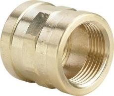 "1.1/4"" Muffe Rødgods Silicium Bronze"
