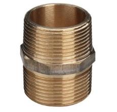"1/2"" Brystnippel Rødgods Silicium Bronze"