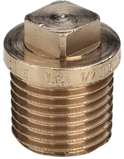 """3/4"""" Rødgods Silicium Bronze gevindfittings prop"""