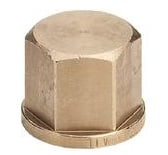 "3/4"" Slutmuffe Rødgods Silicium Bronze"
