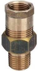 "1.1/4"" Rødgods Silicium Bronze forskruning"