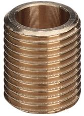 """2"""" Rødgods Silicium Bronze nippel"""