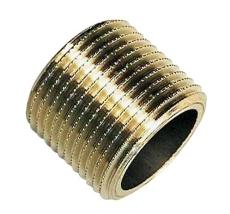 """3/4"""" x 60 mm Nippelrør Rødgods Silicium Bronze"""