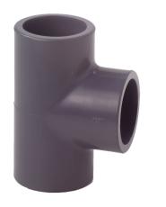 63 mm PVC tee
