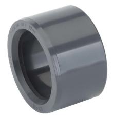 TP PVC-U Reduktionsstykke d63x50