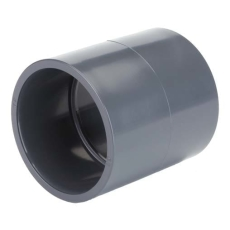 TP PVC-U Klæbemuffe d75mm