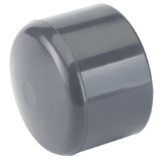 TP PVC-U slutmuffe d25mm