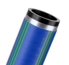 Egeplast 40 mm SLA PE100 PN16 SDR11 rør m/alu-kappe, blå, 10