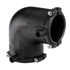 +GF+ ELGEF 25 mm PE EL-svejsevinkel 90°, SDR11 PN16