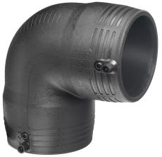 +GF+ ELGEF 125 mm PE EL-svejsevinkel 90°, SDR11 PN16