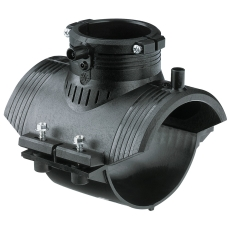 +GF+ ELGEF 110 x 63 mm PE EL-anboringsbøjle, SDR11 PN16