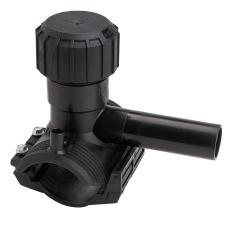 +GF+ ELGEF 40 x 32 mm PE El-anboringsbøjle og ventil, SDR11