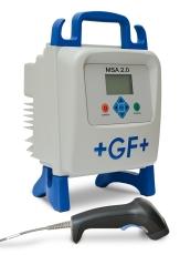 +GF+ MSA 2.0 elektrosvejsemaskine med transportkuffert, scan